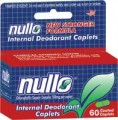 Nullo Deodorant Tablets, 60
