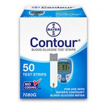 Bayer Contour Glucose Test Strips (50 Count)