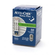 Accu-Chek Aviva Plus Test Strips (50 count)